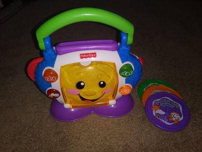 Fisher Price Laugh 'n Learn CD Player