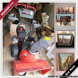 Columbia Estate Sale Online Auction