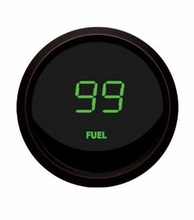 Sell Universal Digital Fuel Level Gauge Green / Black Bezel Intellitronix M9016-G USA motorcycle in North Olmsted, Ohio, US, for US $43.95