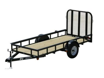 2013 PJ Trailers 60 in. Tandem Axle Angle Utility (US) Utility Sandpoint, ID