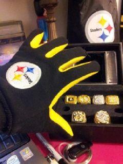 Pittsburgh Steelers 15 item, Memoriabilia Bundle