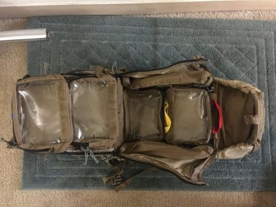 Mystery ranch RATS (rapid access trama system)pack