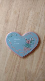 """Families Are Forever wood wall plaque measures 7"""" by 5 1/2"""""""