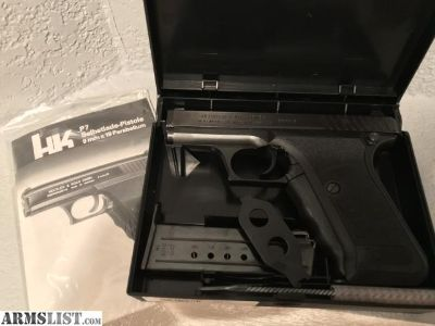 For Sale: HK P7 MINT COMPLETE NEW IN BOX