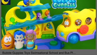 ISO: Bubble guppies toys!!