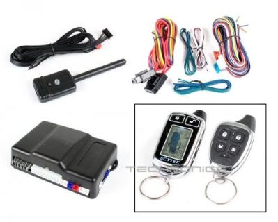 Purchase SCYTEK 2000RS-2W1-C GALAXY REMOTE START KEY LESS ENTRY CAR ALARM SECURITY SYSTEM motorcycle in Gardena, California, United States, for US $99.95