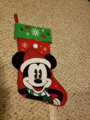 VGUC Mickey mouse stocking