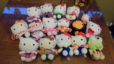 Hello Kitty Ty Beanie Babies Collection