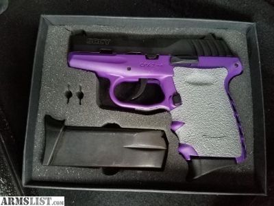 For Sale/Trade: SCCY CPX-2 PURPLE 9MM