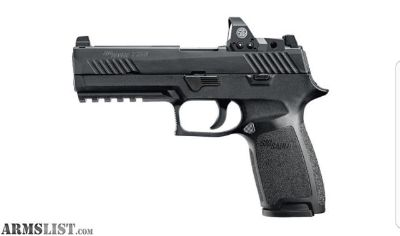 For Sale: Sig Sauer p320rx 9mm full size