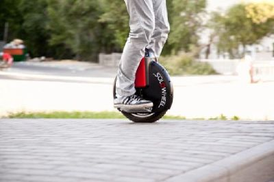 Self balancing electric unicycle scooters