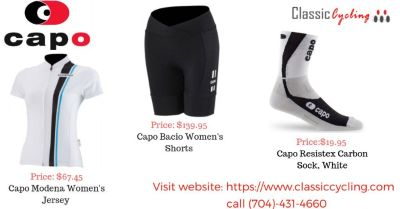 2018 End Sale on Capo Women's Jersey, Shorts & Sock | Call (704)-431-4660