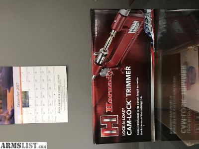 For Sale: Hornady Lock-N-Load Cam-lock Trimmer
