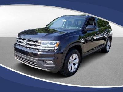 2019 Volkswagen Atlas 3.6L V6 SE w/Technology (DEEP BLACK PEARL EFFECT)
