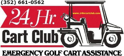 Golf Cart towing On Top Of The World Call (352) 330-1911 24 HR Cart Club