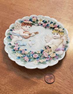 Angel Decorative Plate