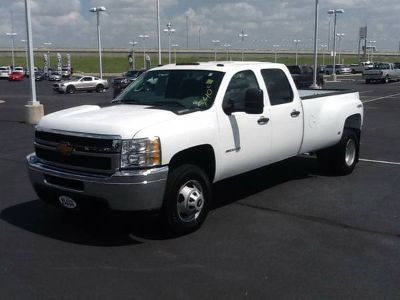 2012 Chevrolet 3500HD 4WD Crew Cab 4X4 Dually - Factory Warranty