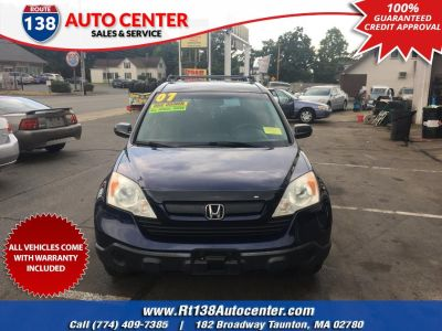 2007 Honda CR-V LX (Royal Blue Pearl)