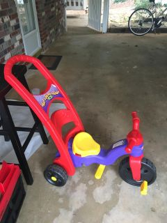 Fisher price rock and ride
