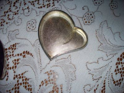 HEART SHAPED STERLING SILVER