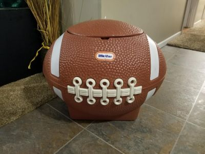 Little Tikes Football Toybox! FIRST COME! PICKUP TODAY