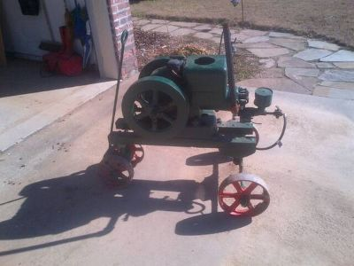 Antique 1 cyl Hit and Miss Engine Fairbanks Morse