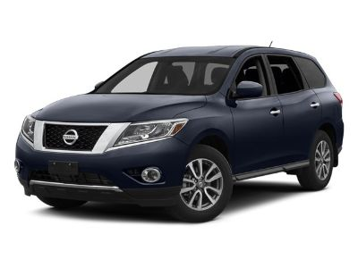 2014 Nissan Pathfinder S (Moonlight White)