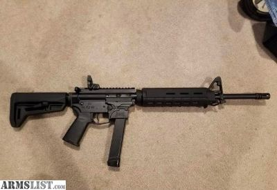 For Trade: PSA AR9 Carbine (takes Glock mags)