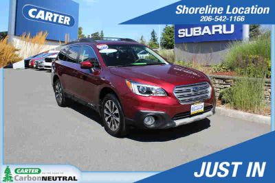 2017 Subaru Outback Red, 26K miles