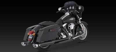 Find Vance & Hines Monster Slip-On Exhaust Black 95-12 Harley Davidson Touring motorcycle in Ashton, Illinois, US, for US $809.96