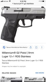 For Sale/Trade: Taurus G 2 9mm