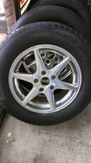 Used Tires wStock Chrome Rims For Sale 22560R17