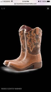 Scentsy Warmer - Rodeo Cowboy Boots