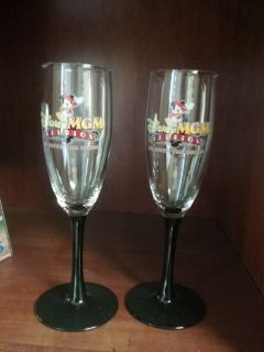 Disney champagne glasses