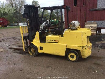 1999 Hyster S120XL2 Forklift