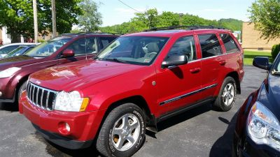 2006 Jeep Grand Cherokee Limited (Red)