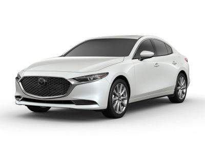2019 Mazda Mazda3 Premium (Snowflake White Pearl)