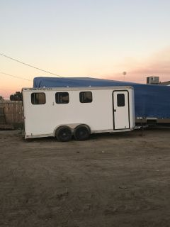 Featherlite 3 horse trailer