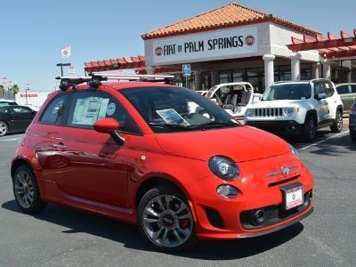 2015 Fiat 500 TURBO (Red)