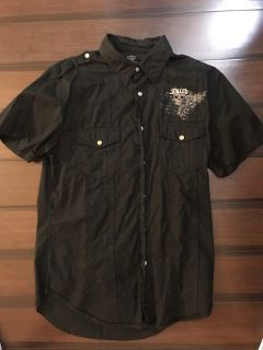 Guess Fast & Fury dress shirt. Small. Black