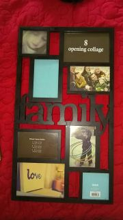New 8 opening collage photo frame