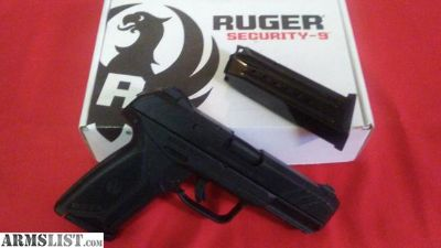 For Sale: RUGER SECURITY 9 MM