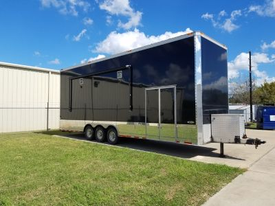 2007 35ft Renegade Stacker Trailer