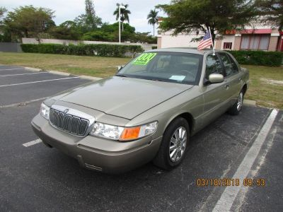 2001 Mercury Grand Marquis LS (Green)