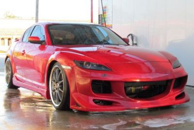 Purchase RX8 04-08 MAZDA JDM front bumper body kit FRONT motorcycle in Rialto, California, United States, for US $225.50