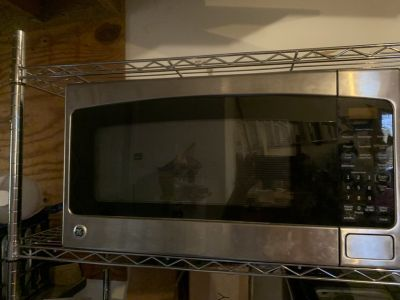 GE 2.0 Cu. Ft. Stainless Steel Microwave