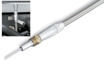 Buy Lokar Dipstick W/ Tube Engine Braided Stainless/Aluminum Ford Sm Block Windsor motorcycle in Tallmadge, OH, US, for US $66.92
