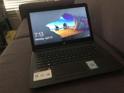 HP Laptop 14 Inch Screen 4Gb Ram,32Gb Memory,Windows 10 In Excellent Condition For Sale $240 In Escondido Cross Posted