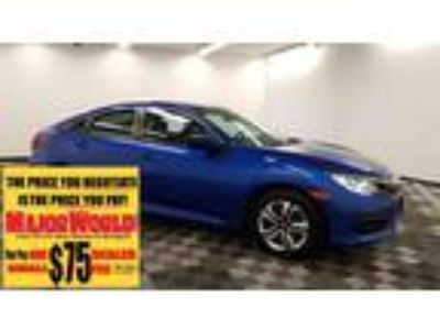 $16900.00 2017 HONDA Civic with 45565 miles!
