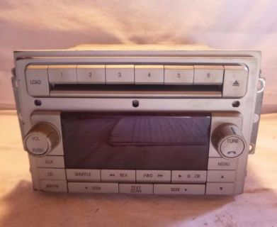 Purchase 09 10 Lincoln Navigator Radio 6 Disc CD MP3 Player 9L7T-18C815-AA C12202 CP motorcycle in Williamson, Georgia, United States